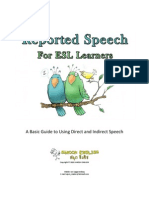 Reported Speech for ESL Learners