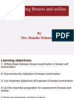 Assessing Breasts and Axillae