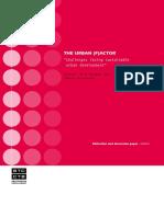 Tg KOTA Urban FACTOR Challenges Facing Sustainable Urban Development(2)