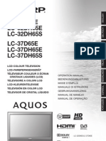 SHARP AQUOS LC-32D/LC-37D Manual