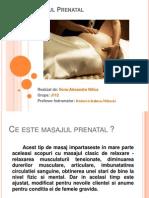 Masajul Prenatal