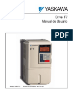 Yaskawa Manual do Usuário F7
