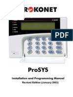 ProSys Installer Manual