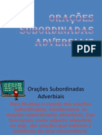 Oracoes as Adverbiais II