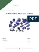 Pompe - Clasificare Si Function Are