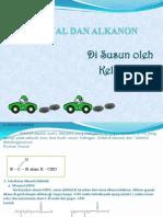 Alkanal Dan Alkanon