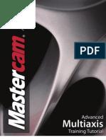 Sample - Mastercam X5 Advanced Multiaxis Training Tutorial