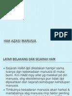 SOSPOL 5 Hak Azazi Manusia