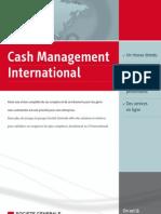 Plaquette cash management Société Générale
