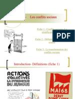 Thème conflits sociaux 2011-2012