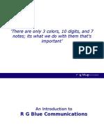 RGBlue Powerpoint Presentation v5