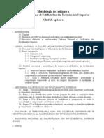 Metodologie CNCIS_2010