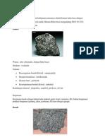 Batuan Beku Basa