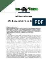 Marcuse, Herbert - Un Ensayo Sobre La Liberacion