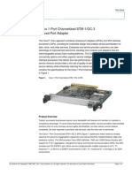 Cisco 1-Port Channelized STM-1_OC-3 Shared Port Adapter Product_data_sheet0900aecd80350c53