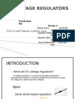 Dc Voltage Regulators
