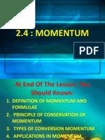 2.4 Momentum
