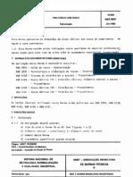 NBR 8091 PB 238 - Pinos Conicos Com Rosca