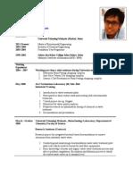 Curriculum Vitae Muhammad Anwar