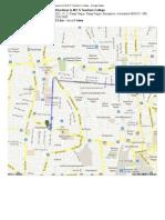 Mantri Square to M E S Teachers College - Google Maps