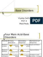 Acid – Base Disorders