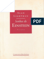 Sonhos de Einstein [Alan Lightman]