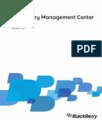 Blackberry Management Center User Guide