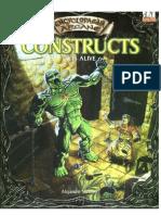 [D&D d20 - Eng] Encyclopaedia Arcane - Constructs