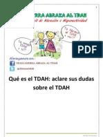 Qué es el TDAH