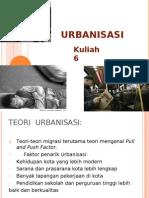 Urbanisasi II