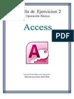 Cartilla de Ejercicios de Access 2