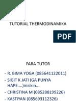 Tutorial Thermodinamika