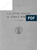 P.P.panaitescu Calatori Poloni in Tarile Romane