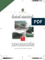 Guia de Exploracion Minero Ambiental