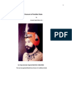 Historical Account of Faridkot State Final