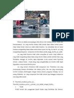 Pengertian Polusi Air