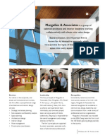 Corporate Collateral for Margulies & Associates