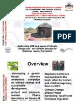 Thato Selelo, Botswana, Climate Change, Summit - 2012