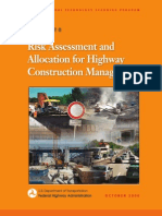 Risk Assessment and Allocation for Highway Construction Management
