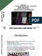 Precious Mutsetse, Zimbabwe, HIV/Aids - Summit 2012