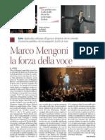 Marco Mengoni la forza nella voce