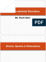 Musculo Skeletal Disorders