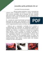 Doenças causadas pela poluição do ar
