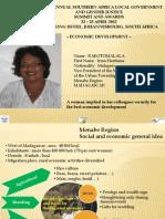 Irma Rakotomalala Haritiana, Madagascar, Local Economic Development - Summit 2012