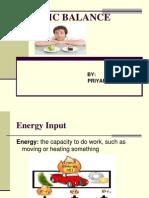 Caloric Balance (2)