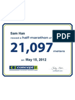 2012 05 15 Concept2 Half Marathon Certificate