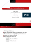 PostgreSQL Functions by Example