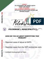 Glen Mhango, South Africa, Prevention - Summit 2012