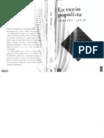 Ernesto Laclau - La razón populista