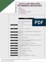 Manual de Psiquiatria